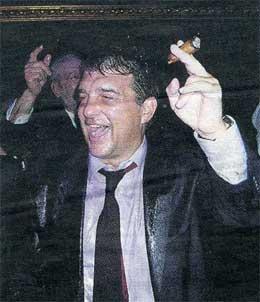 Las lágrimas de Juan Laporta.
